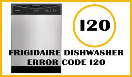 Frigidaire dishwasher error code i20