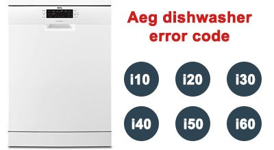 Aeg dishwasher error code