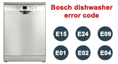 Bosch dishwasher error code