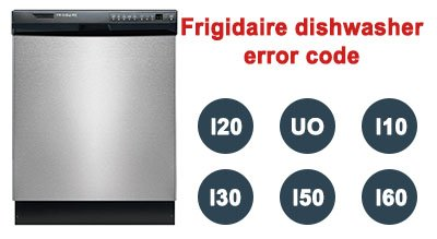 Frigidaire dishwasher error code