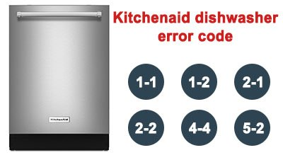 Kitchenaid dishwasher error code