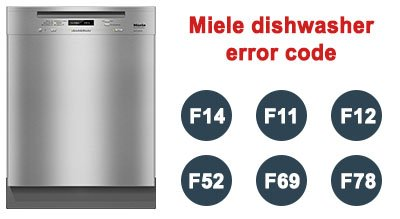 Miele dishwasher error code