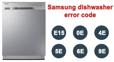 Samsung dishwasher error code