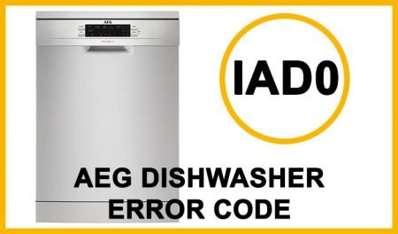 Aeg dishwasher error code IAd0