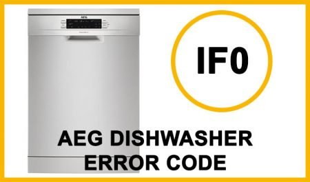 Aeg dishwasher error code IF0