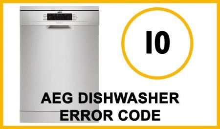 Aeg dishwasher error code i0