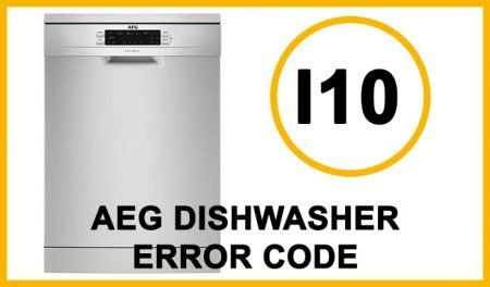 Aeg dishwasher error code i10