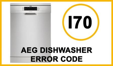 Aeg dishwasher error code i70