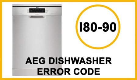 Aeg dishwasher error code i80-i90