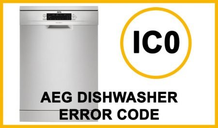 Aeg dishwasher error code ic0