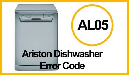 Ariston Dishwasher Error AL05