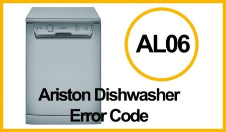 Ariston Dishwasher Error AL06