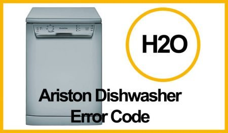 Ariston Dishwasher Error H2O