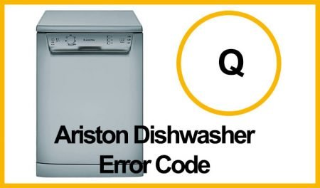 Ariston Dishwasher Error Q