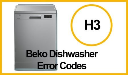 Beko Dishwasher Error H3
