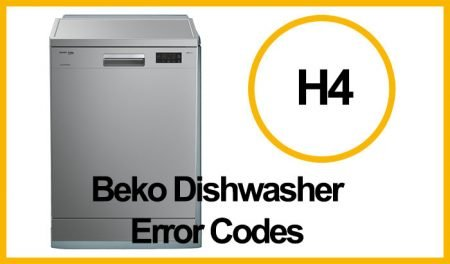 Beko Dishwasher Error H4