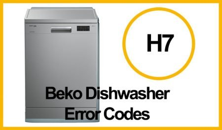 Beko Dishwasher Error H7