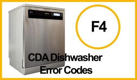 CDA Dishwasher Error F4