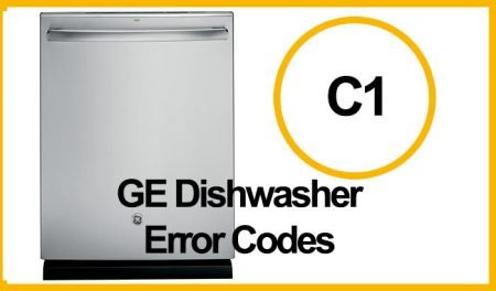 GE Dishwasher Error C1