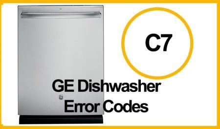 GE Dishwasher Error C7