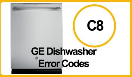 GE Dishwasher Error C8