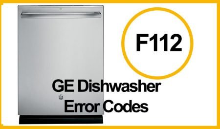 GE Dishwasher Error F112