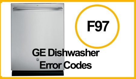 GE Dishwasher Error F97
