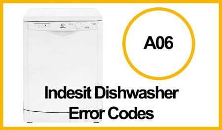 Indesit Dishwasher Error A06