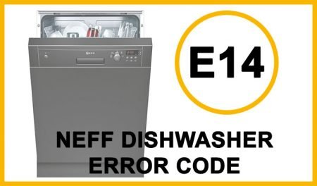 Neff dishwasher error code e14