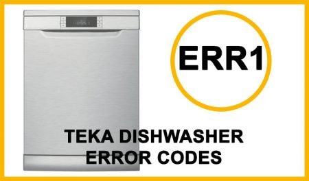 Teka Dishwasher Error Codes Err1
