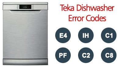 Teka Dishwasher Error Codes
