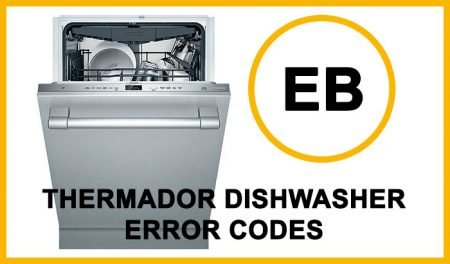 Thermador Dishwasher Error Codes eb