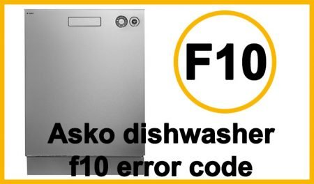 Asko dishwasher f10 error code