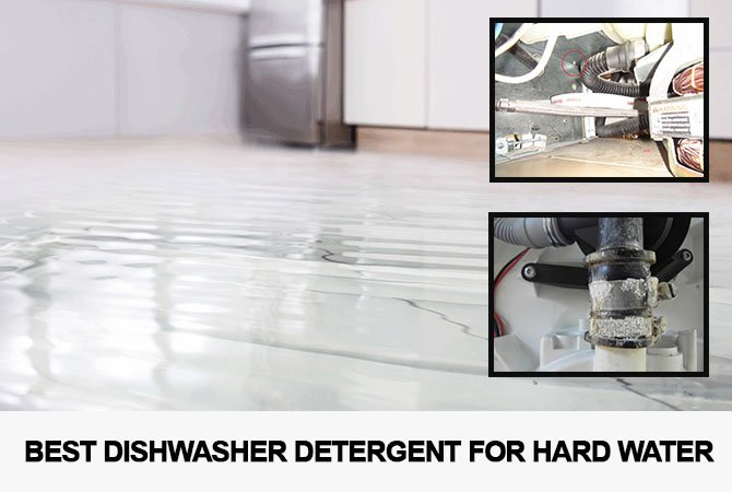 Dishwasher leaking water