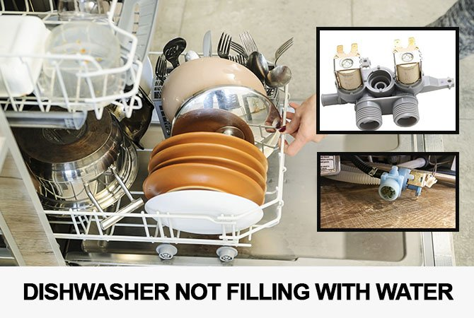 Dishwasher not filling with water