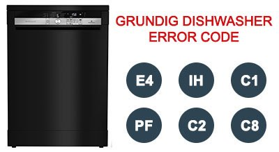 Grundig dishwasher error code