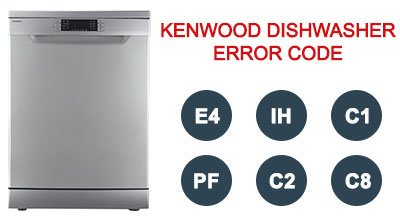 Kenwood dishwasher error code